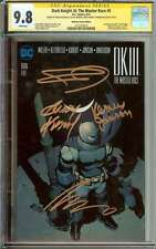DARK KNIGHT III: THE MASTER RACE #5 CGC 9.8 WHITE PAGES ID: 4375