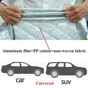 Car Windshield Cover Sun Shade Protector Winter Snow Rain Dust Frost Guard Tool