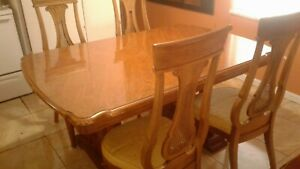 Vintage Thomasville  Extendable Solid Wood Dining Table