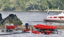 BUSCH 1077 Set de pompiers Protection contre les inondations H0 # in #