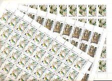 USSR 1990...n° 5725-27  MNH *** YT 135€...OWLS...(3 SHEETS)