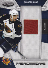 Evander Kane 2010-11 Certified Fabric of the Game #EVK   079/250