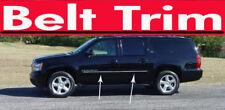 chevy SUBURBAN CHROME SIDE BELT TRIM DOOR MOLDING 07 08 2009 10 2011 2012 2013**