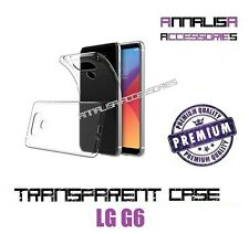 COVER TRASPARENTE PER LG G6 CUSTODIA SILICONE TPU TRANSPARENT CASE 0,3mm
