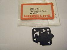 NEW HOMELITE DIAPHRAGM PUMP   PN 98061-30
