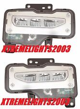 GMC SIERRA 1500 2016 LEFT RIGHT FOG LIGHTS DRIVING BUMPER LAMPS PAIR SET