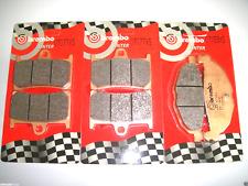 KIT PASTIGLIE FRENO ANTERIORI + POSTERIORI BREMBO 07077XS 07059XS T-MAX 500 2011