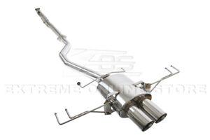 """For 17-Up Honda Civic Hatchback Sport FK7 3"""" Single Cat-Back Exhaust System"""