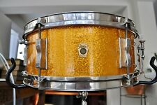 Ludwig Gold Sparkle Pioneer Snare + Case + Stand ~ Collector Condition