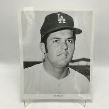 "JOE MOELLER - Los Angeles Dodgers Baseball - 8"" x 10"" Black & White Photograph"