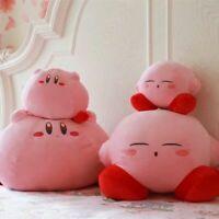 Kawaii Kirby Adventure Run Plush Soft Doll Stuffed Animal Toy Kids Birthday Gift