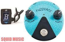 Dunlop FFM3 Jimi Hendrix Fuzz Face Mini Turquoise Guitar Pedal ( FREE TUNER )
