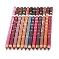 12pcs/set Women Matte Lipstick Pencil Waterproof Lip Liner Makeup Cosmetic Gifts