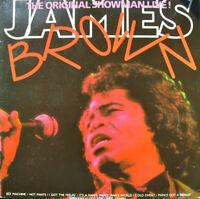 JAMES BROWN ~ The Original Showman Live!~ 1988 UK/German 18-track 2xLP vinyl set