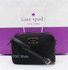 NEW Kate Spade Blake Avenue Mindy Small Crossbody Shoulder Bag Nylon Black