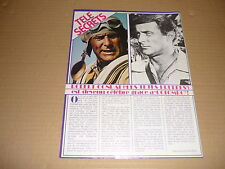*AA223 ROBERT CONRAD '1982 FRENCH CLIPPING