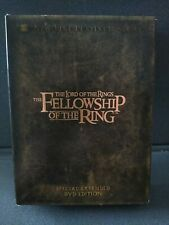 Lord of the Rings Fellowship of the Ring Extended 4 Dvd Set