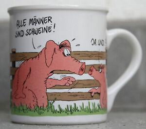 Uli Stein Kaffeebecher Becher Tasse Alle Männer sind …