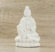 Quan Yin Goddess of Mercy & Compassion Figurine Ivory 95mm