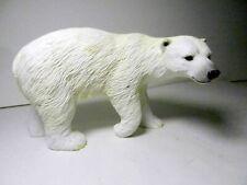 "1992 Polar Bear Figurine Statue Highly Detailed Polystone 5"" x 3"" x 2"""