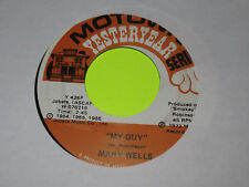 """MARY WELLS - MY GUY / WHATS EASY FOR TWO IS SO HARD FOR ONE 7"""" 45  EX"""