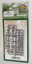 Ratio 257 - Lineside Relay Boxes x 10 - Plastic Kit - New - (N)