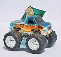 Old World Christmas - Toy Monster Truck Christmas Ornament - New