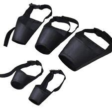 Dog Muzzles Suit,5PCS Adjustable Dog Mouth Cover Anti-biting Barking Muzzle T5X7