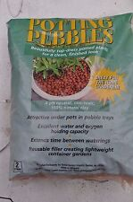 Potting pebbles expanded Clay Media (aliflor) for Hydroponic, Aquaponic, orchid