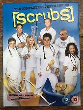 Zach Braff SCRUBS - SEASON 7 | Hospital Comedy Series | UK DVD / Slipcover