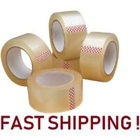 "10 ROLLS CLEAR PARCEL CARTON SEALING PACKING REMOVAL selotape TAPE 2""48MM X 66M"