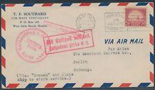Katapultflug Dampfer Bremen 28.8.1929 ab USA nach Berlin (S18507)