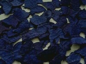 100 QUALITY DEEP NAVY BLUE  BUTTERFLY  SILK ROSE PETALS/WEDDING/TABLE/CONFETTI
