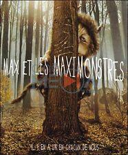 BLU-RAY // MAX ET LES MAXIMONSTRES // Film De Spike Jonze / Fantastique / NEUF