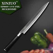 "Sashimi Sushi chef knife Knives 10.5"" inch Japanese Damascus kitchen Sharp Fish"