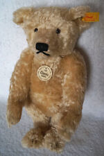 Original Steiff Classic Teddybear 1920 replica release edition mohair blonde