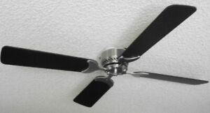 """Non-Brush DC12V 36"""" Ceiling Fan for RV with Wall Control"""