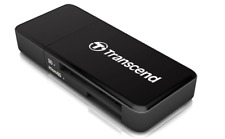 Transcend TS-RDF5K USB 3.1 SDHC/SDXC/microSDHC/SDXC Card Reader, Black