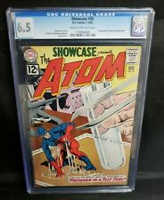 Showcase #36 3rd Silver Age Appearance of the Atom CGC 6.5 FN+ DC Comics 19612