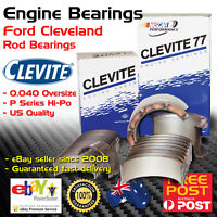 CLEVITE CB927 Engine Conrod Rod Bearings for Ford Cleveland 302 351 +.040
