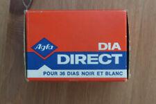 Agfa Dia Direct 32asa 35mm B&W Slide film Expired 01/91