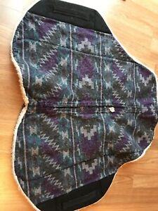 Purple Skito Pad with inserts (endurance, treeless, trail)
