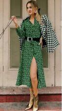 ZARA NEW PRINTED SHIRT DRESS SIZE SMALL BNWT