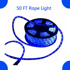 50 FT 540 LED Rope Light 110V Outdoor Xmas Party Home Garden Wedding Blue