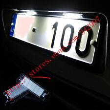 2x LED License Plate Lights For Alfa Romeo 147 156 159 166 Brera Spider GT Mito