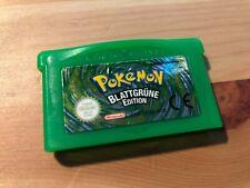 Pokémon: Blattgrüne Edition (Nintendo Game Boy Advance, 2004) - speichert