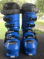 Lange RS 70 SC Power Blue Ski Boots-Size 245-US Men' 7/Women 8-Euro 38-NEW W/Box