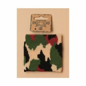 2 (Pair) Camouflage Army Style Wristband Sweatbands