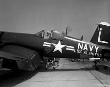 "Pinup Girl Model U.S. Navy F4U Corsair Cockpit 8""x 10"" Korean War Era Photo 34"