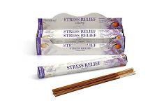 STRESS RELIEF STAMFORD Incense Sticks 6 Hexa Packs x 20 Sticks=120 Sticks